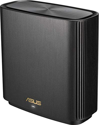 ASUS ZenWiFi AX Whole-Home Tri-Band Mesh WiFi 6 System(XT8), Coverage Up to 230 sq m or 2475 sq ft or 4+ Rooms, 6.6 Gbps WiFi, 3 SSIDs, Life-Time Free Network Security and Parental Controls, 2.5G Port
