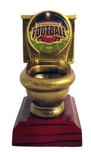 Place Award Trophy (Fantasy Football FFL Toilet Bowl Trophy / Award)