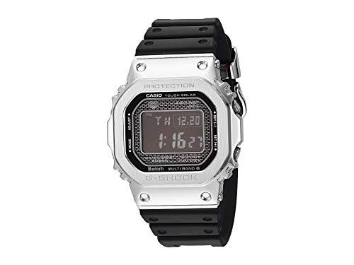 G-Shock Men's GMW-B5000-1CR Black/Silver One Size (Basketball Goal Lights Up)
