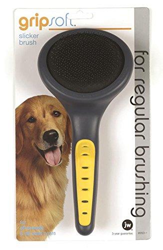 JW Pet Company GripSoft Slicker
