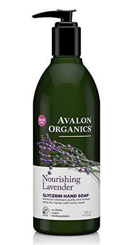 🥇 Avalon Organics Nourishing Lavender Glycerin Hand Soap