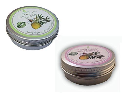 Bundle Rainforest Air Purifier (2.2 oz) + Original Tea Tree Air Purifier (2.2 oz) ✔✔