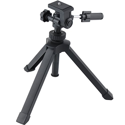 Gosky Heavy Duty Adjustable Table Top Tripod for Scope scopes Binoculars Telescope DSLR Cameras and Other - Telescope Tripod Tabletop