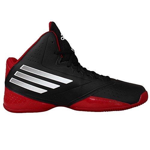 Adidas Serie 3 2014, Negro / blanco / rojo Scarle, 10,5 M con nosotros - black - red - white