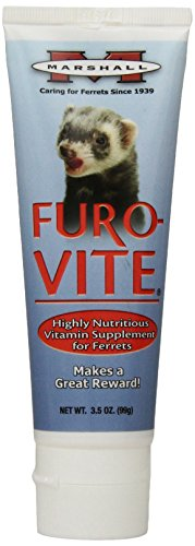Vitamin Paste (Marshall Furo-Vite Vitamin Supplement Paste for Ferrets, 3.5-Ounce)