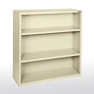"Sandusky Lee BA20361842-07 Elite Series Welded Bookcase, 18"" x 42"" x 36"", Putty"