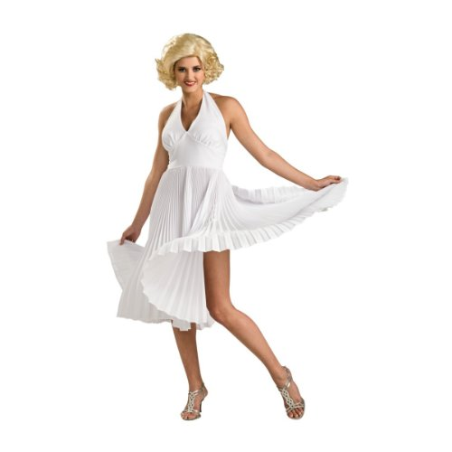 [Deluxe Marilyn Monroe Costume - Small - Dress Size] (Marilyn Monroe Deluxe Adult Costumes)