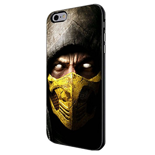 Best Video Game Characters (Scorpion Mortal Kombat X) for Iphone and Samsung Galaxy Case (iPhone 6 plus (Mortal Kombat Cartoons)