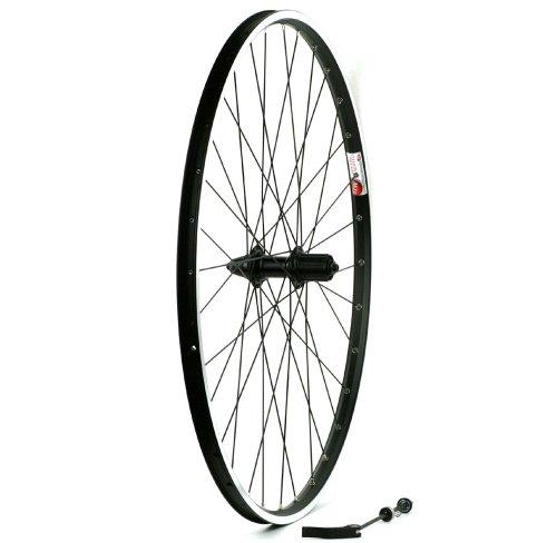 Sta-Tru Black Alloy Mtb 8-9-10 Speed Cassette Hub Rear Wheel (700X35) (10 Speed Rear Hub)