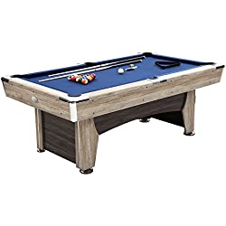 Harvil Beachcomber Indoor Pool Table 84 Inches with Free Complete Accessories Set