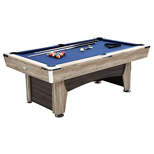 Beachcomber Indoor Pool Table 84 Inches with Free Complete Accessories Set by Harvil