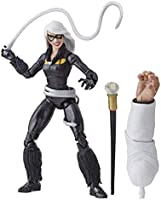 Marvel Figura Black Cat Spider-Man Legends, 6 Pulgadas