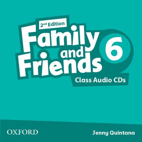 Family and Friends: Level 6: Class Audio CDs ebook
