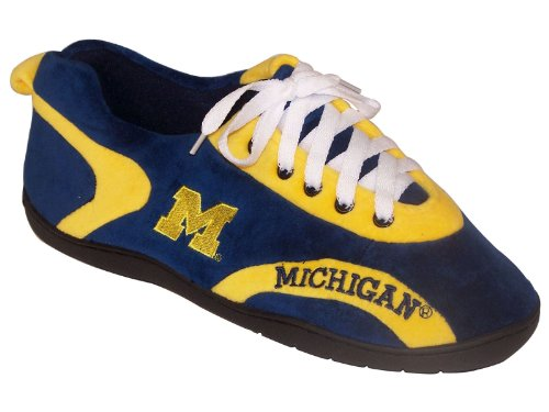Slippers Mens Around NCAA College All Happy Blue Feet and Womens 8w66qv