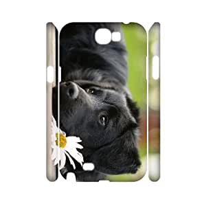 ALICASE Hard case Dog 3D Diy For Samsung Galaxy Note 2 N7100 [Pattern-1]