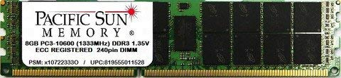 8GB PC3-10600 (1333MHz) DDR3 ECC Registered Upgrade for Dell PowerEdge R620 (Certified Refurbished)