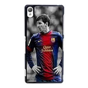 Generic Design Back Case Cover Sony Xperia Z3 Cell Phone Case Black Lionel Messi Yrwdov Plastic Case