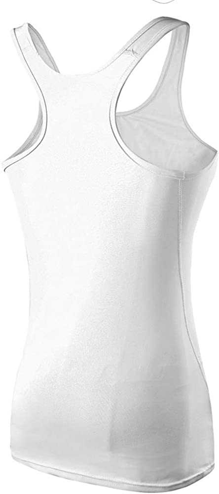 Jessie Kidden Womens Compression Base Layer Dry Fit Tank Top Fitness Running Yoga Camisole