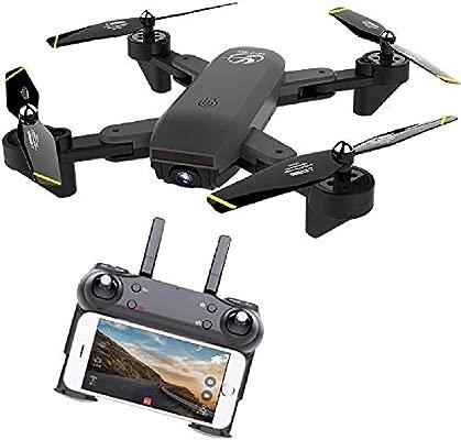 Mini Drone, con cámara Plegable Drone Flujo de luz de Alta altitud ...