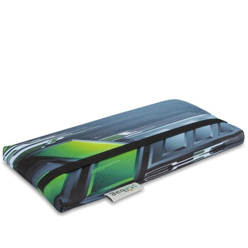 Stilbag Etui 'MIKA' pour Apple iPhone 5c - Dessin: Futuristic