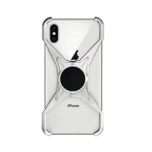 Rokform [iPhone X] Predator Aerospace Aluminum Minimalist Magnetic Case (Natural)