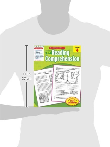 Scholastic Success with Reading Comprehension, Grade 4: Scholastic ...