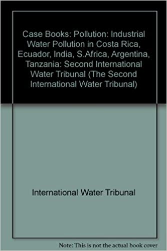Pollution (The Second International Water Tribunal)