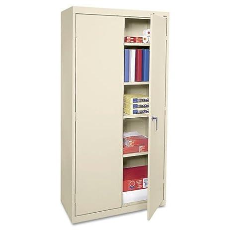 Amazon.com: Alera Economy Assembled Storage Cabinet, 36w x 18d x ...