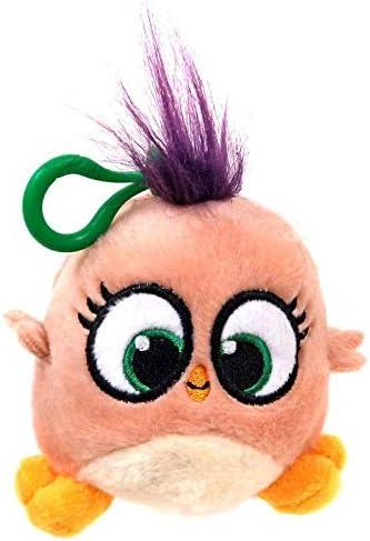 Amazon Com Rovio Angry Birds Hatchlings Peach 4 Inch Plush Clip On Toys Games