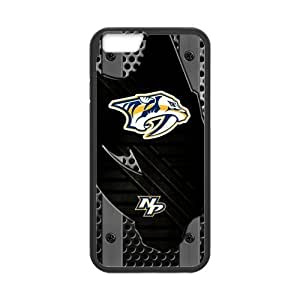 Custom Unique Design NHL Nashville Predators Iphone 5C Silicone Case by lolosakes