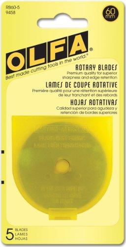 Rotary Blade Refills-60mm 5/Pkg by OLFA