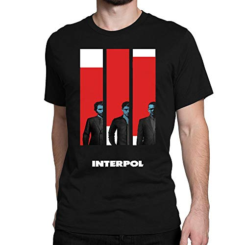 GOOD COME FROM Men's Interpol Band Short Sleeve T Shirt