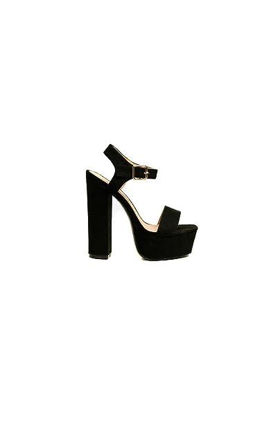 Femmes: Chaussures Escarpins Ikrush Womens Diana Diamante Broche Satin Talons