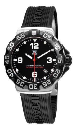 (TAG Heuer Men's WAH1110.FT6024 Formula 1 Black Dial Watch)