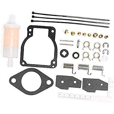 Unepart 18-7750-1 Carburetor Kit For Sierra Mercury Mariner Outboard Motor Replaces 1395-8236354(pack of 3): Automotive
