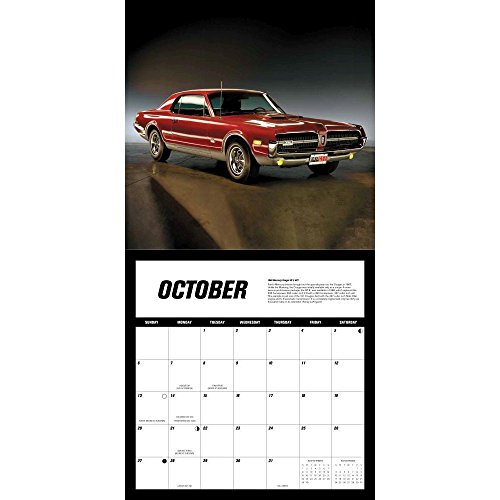 american muscle cars 2019 16 month calendar includes september 2018 through december 2019