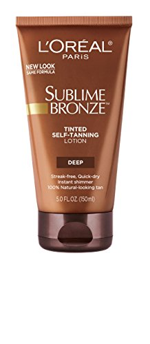 Price comparison product image L'Oreal Paris Sublime Bronze Tinted Self-Tanning Lotion, Deep Natural Tan, 5 fl. oz.