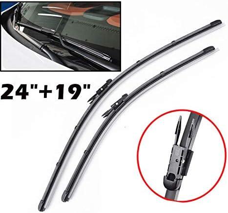 FidgetKute Front Windshield Wiper Blades for BMW 3 Series X1 F30 F31 F80 F34 E92 E93 E84
