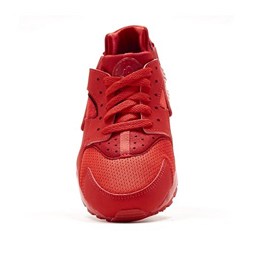 Nike Huarache Little Kid's Running Shoes University Red/University Red 704949-600 (2.5 M US) by Nike (Image #2)