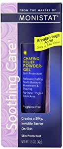 Monistat Complete Care Chafing Relief Powder Gel, 1.5 OZ (pack of 3)