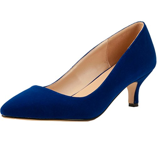 Calaier B femme Caguitar Escarpins pour Bleu 806r8Xqnx