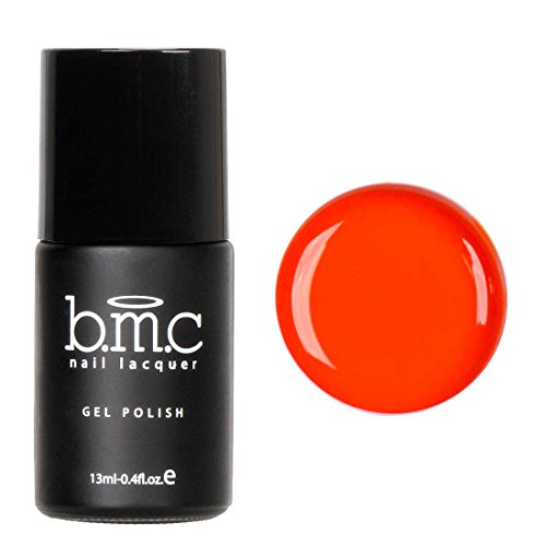 BMC Bright and Loud Orange Gel Lacquer Polish - Neon Wastela