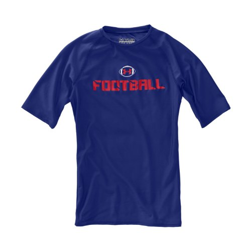 Camisa de manga corta de f¨²tbol de HeatGear? para ni?os por
