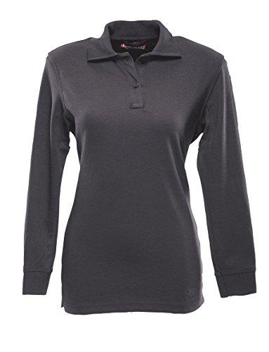 TRU-SPEC Polo Shirt, 24-7 Women's 60/40 C/P L/S, Navy, - Discount Enforcement Law Sunglasses For
