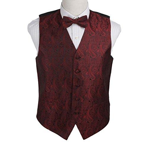 Designer Vest Bow Tie - 4