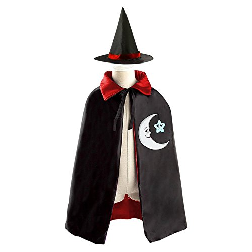 Halloween Costumes For Kids Girls 10 And Up At Party City (Cute Halloween Costumes Moon And Star Wizard Cap And Cloak For Child)
