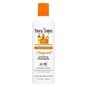 Fairy Tales Sun & Swim Lifeguard Clarifying Shampoo - Daily Kid Summer Shampoo - 12 oz