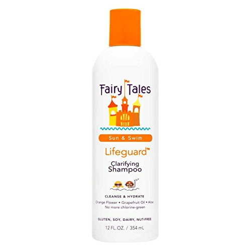 Fairy Tales Sun & Swim Lifeguard Clarifying Shampoo - Daily Kid Summer Shampoo - 12 oz (Shampoo And Conditioner To Get Curly Hair)