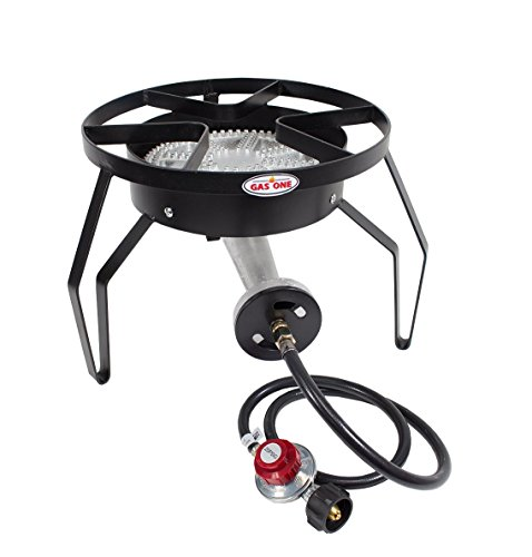 GAS ONE 200,000 BTU Single Burner Outdoor Stove Propane G...