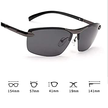 68274fed08 Mens Polarized Photochromic Sunglasses UV400 Driving Transition Lens Sun  Glasses